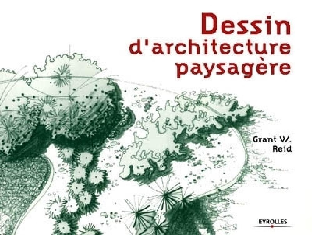 Dessin d'architecture paysagère