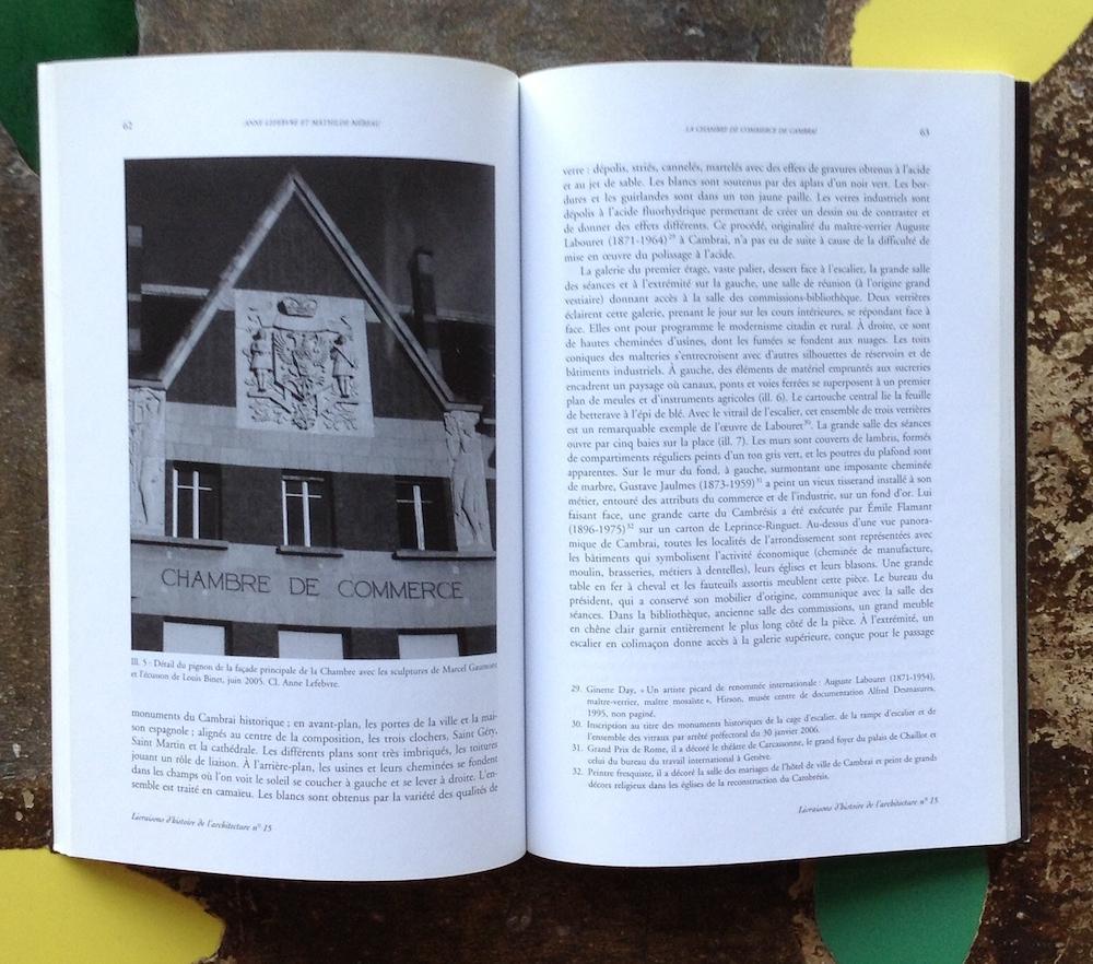 Livraisons d'histoire de l'architecture n°15