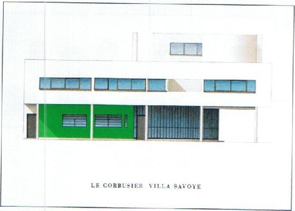 Le Corbusier Villa Savoye, (Affiche)