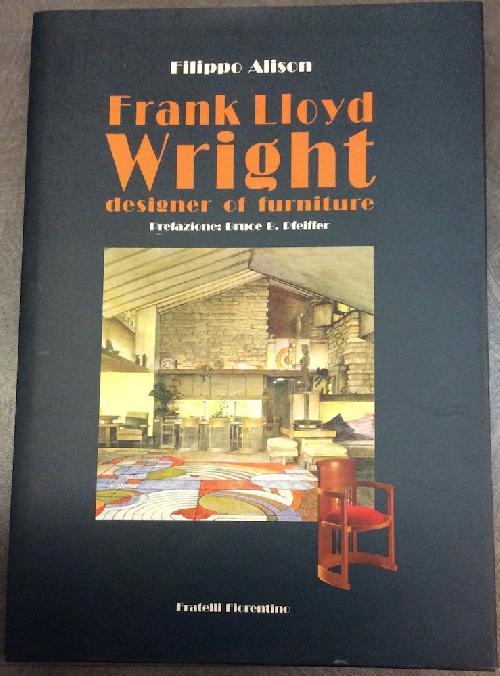 Frank Lloyd Wright designer of furniture