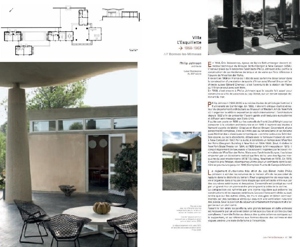 L'architecture du XXe siècle dans le Var