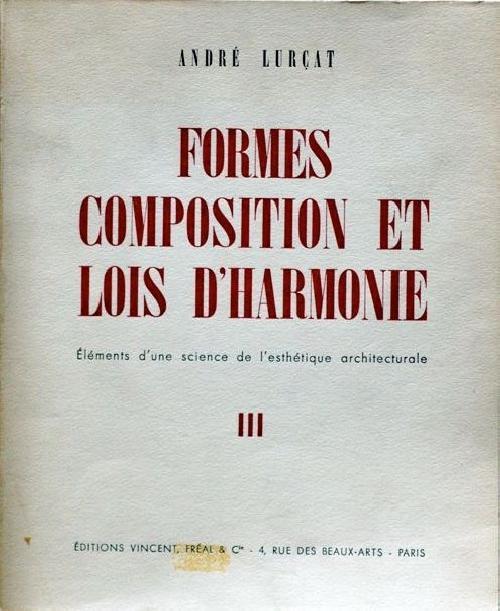 Formes composition et lois d'harmonie