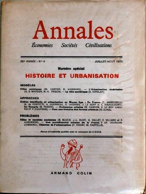 Annales économies, sociétés, civilisations