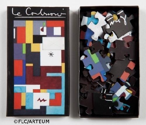 Mini-Puzzle Le Corbusier