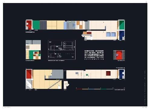 Restitution graphique des sections colorées