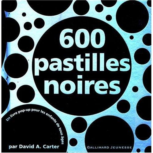 600 Pastilles noires