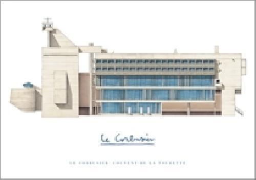 Le Corbusier La Tourette (Affiche)