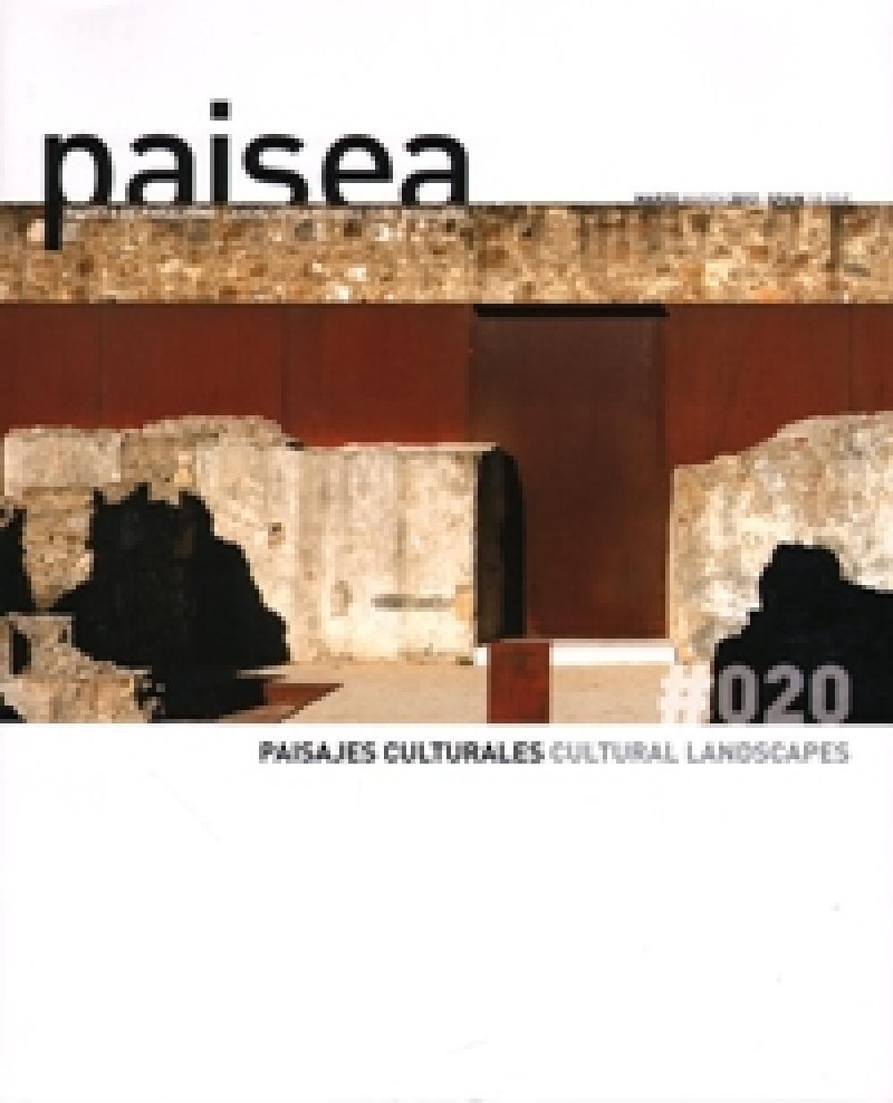 Paisea n°20 Paisajes culturales
