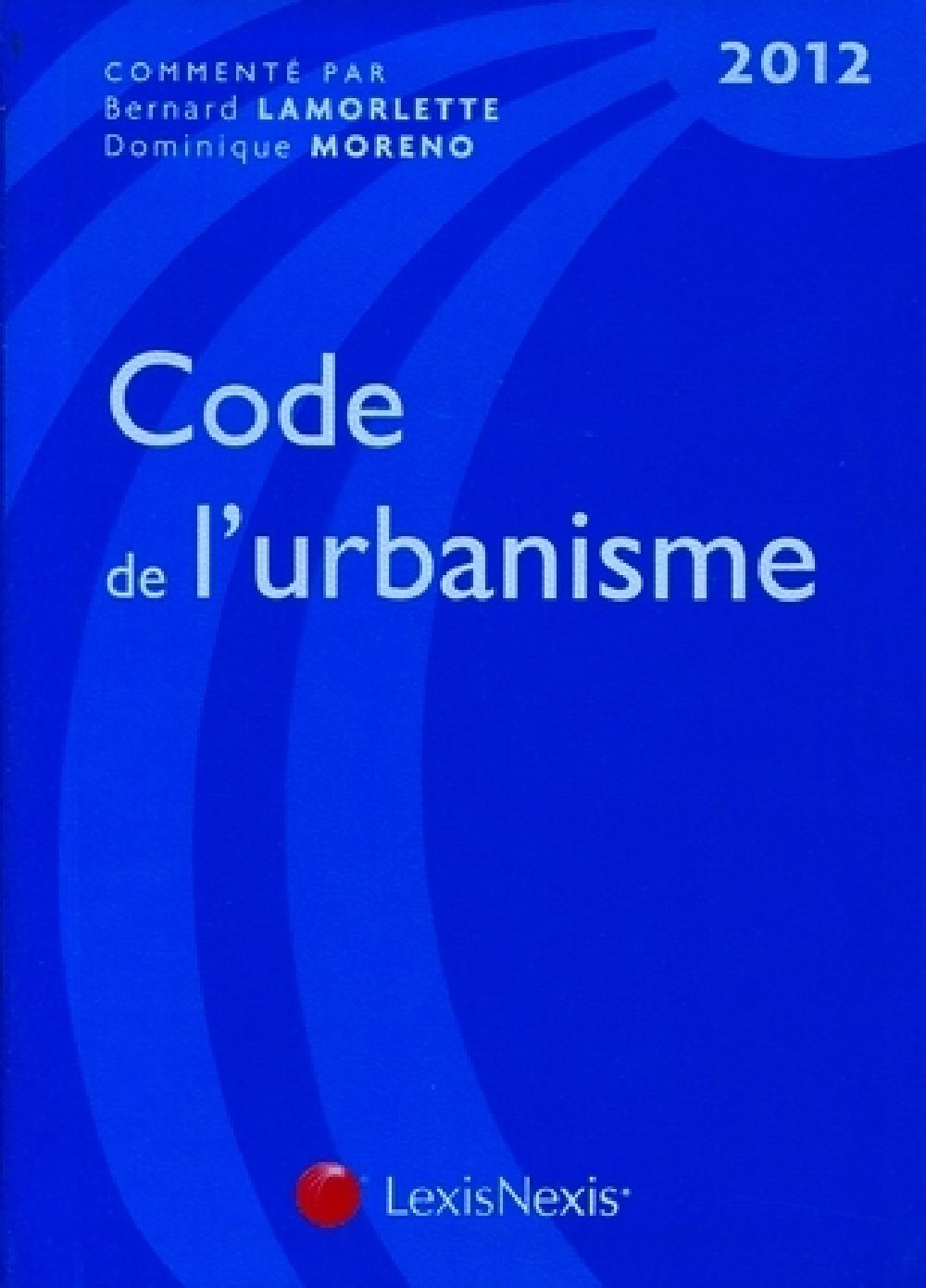 Le code de l'urbanisme 2012