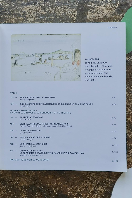 Massilia 2012 - La boîte à miracles. Le Corbusier et le théâtre