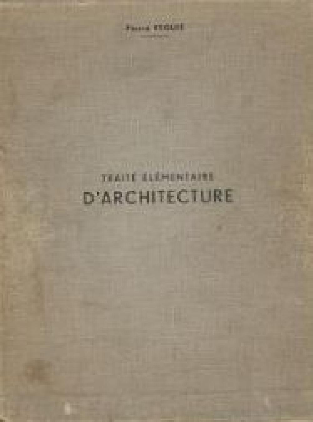Traité élémentaire d'architecture