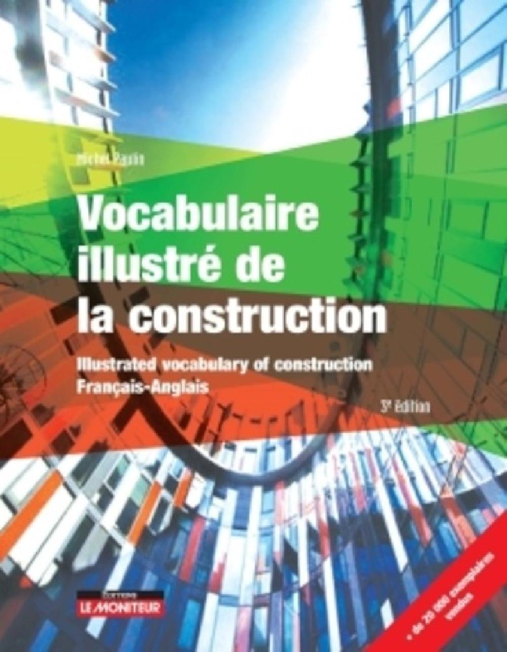 Vocabulaire illustré de la construction BILINGUE 3e édition