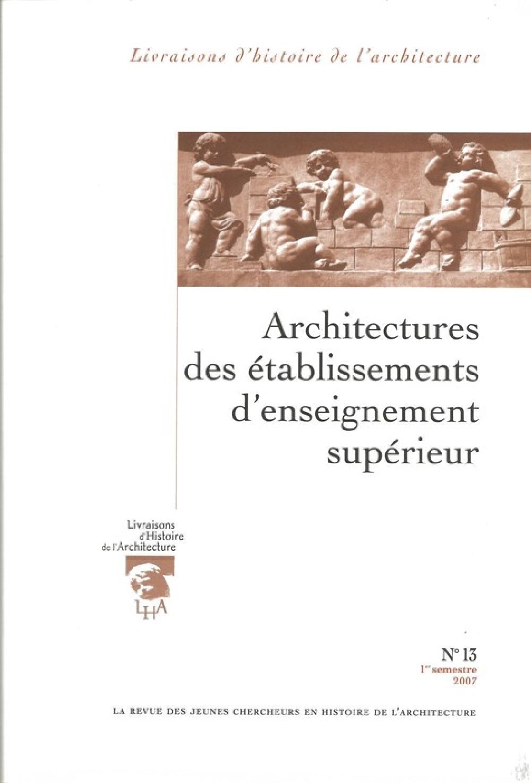 Livraisons d'histoire de l'architecture n°13