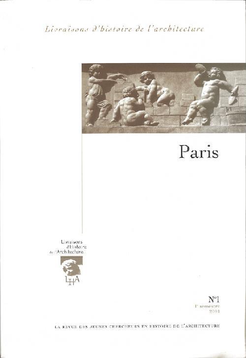 Livraisons d'histoire de l'architecture n°1