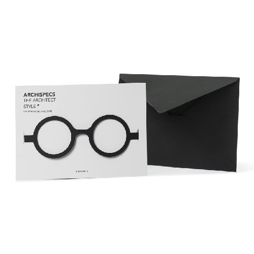 Archispecs - Architec glasses card  + enveloppe