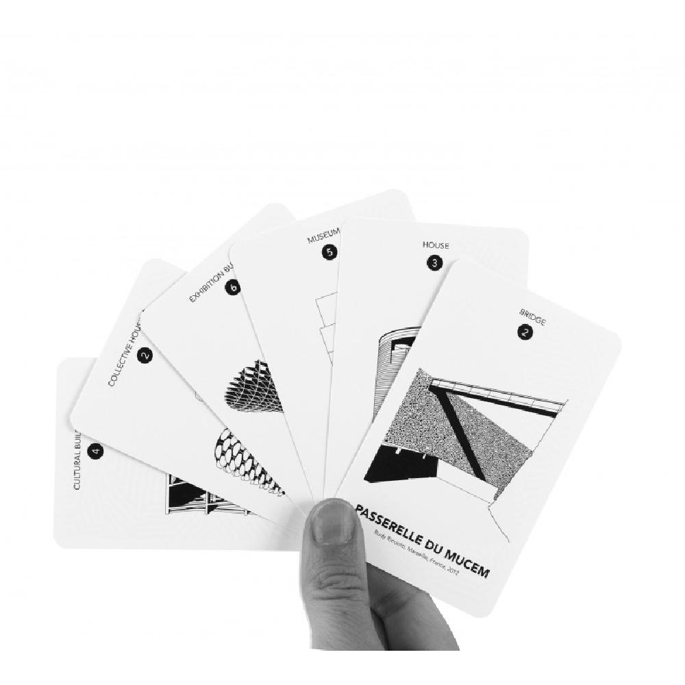 ICONIC ARCHITECTURE - Family Card Game