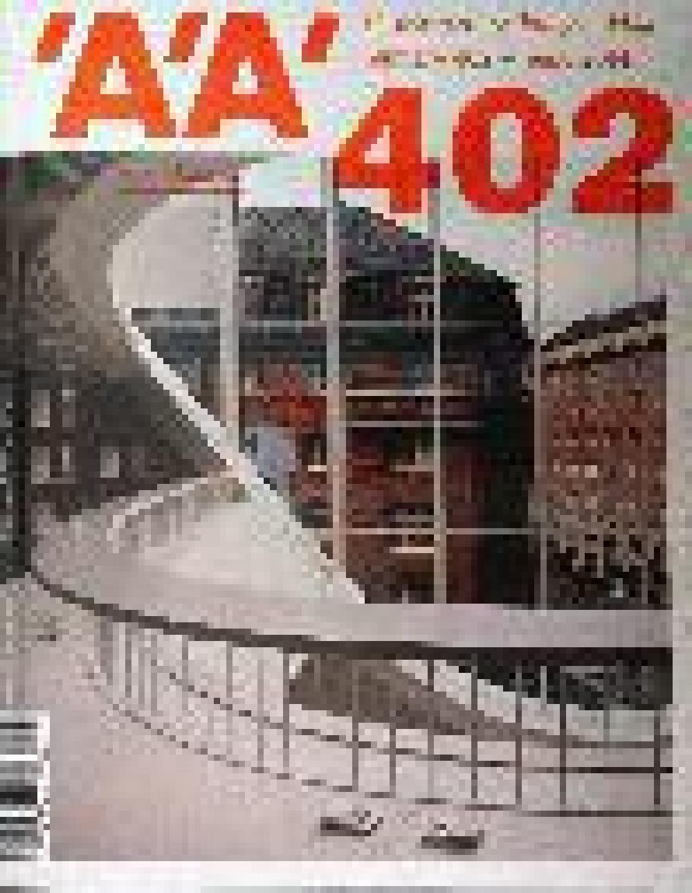 L'architecture d'aujourd'hui n°402