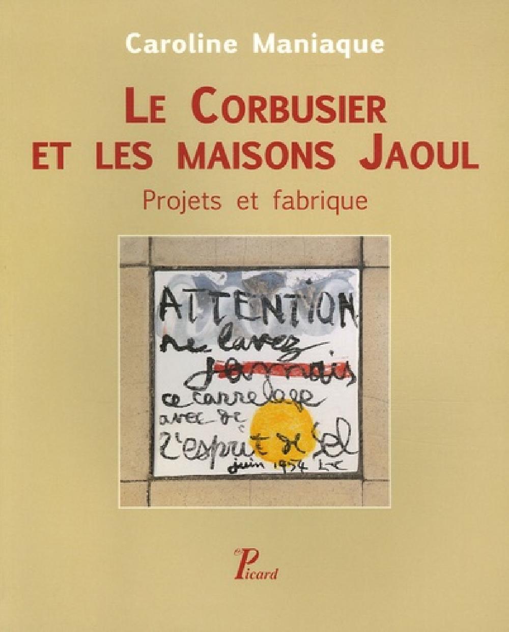 Le Corbusier et les Maisons Jaoul