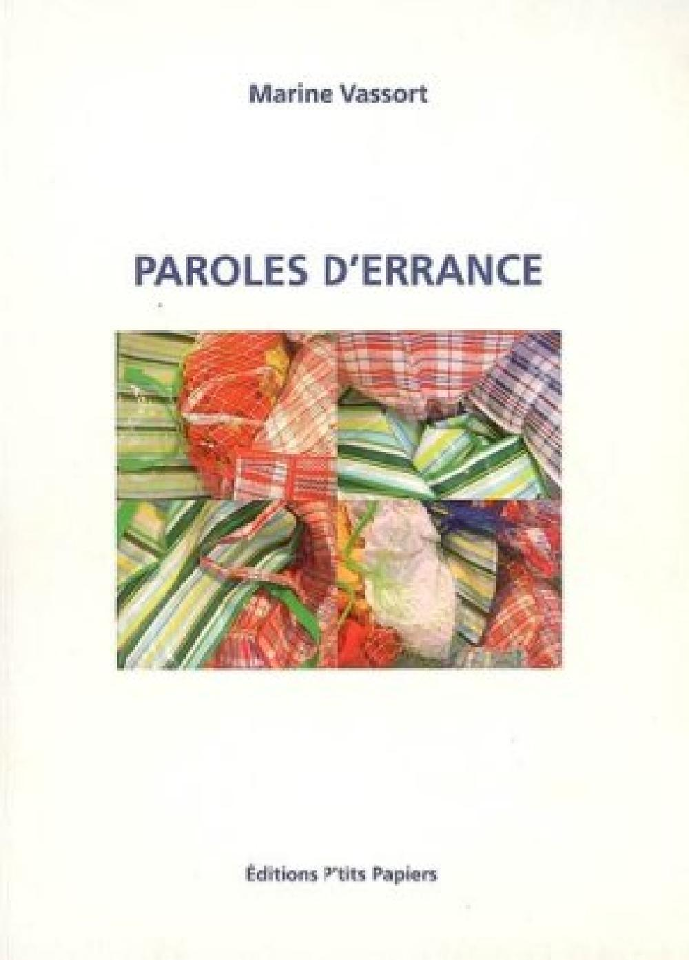 Paroles d'errance