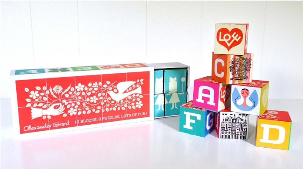 Alexander Girard Blocks