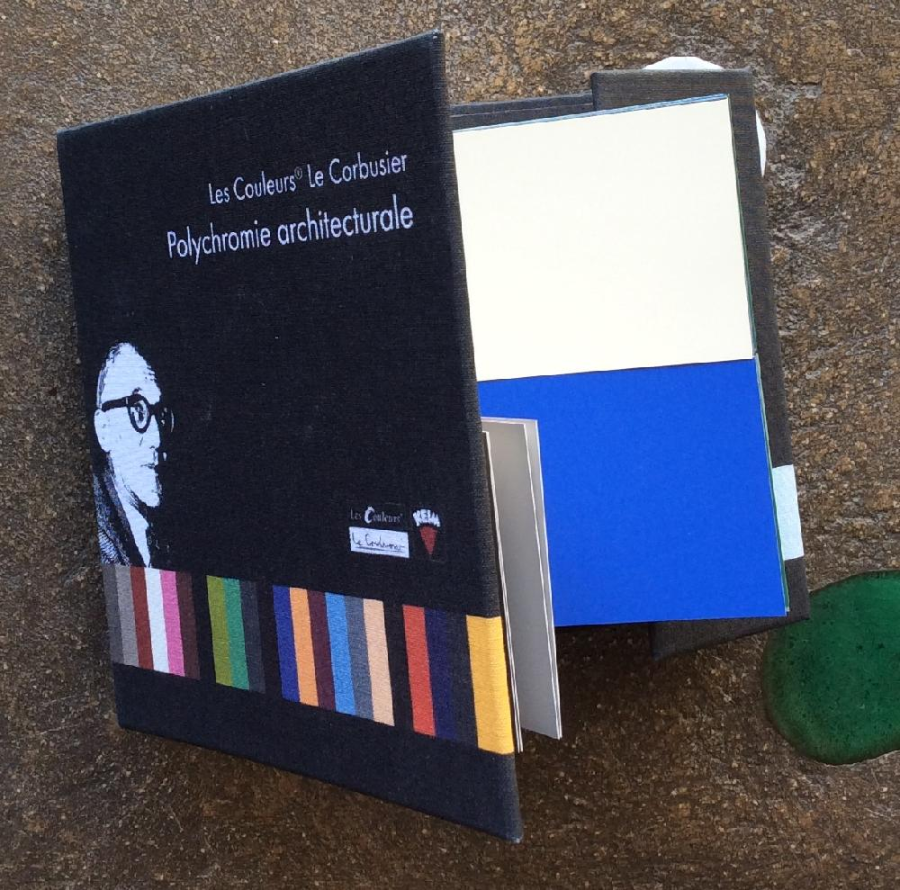 Nuancier Polychromie architecturale Le Corbusier