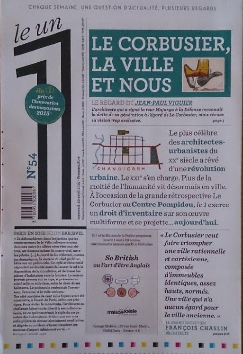 Le Un n°54 - Le Corbusier la ville et nous