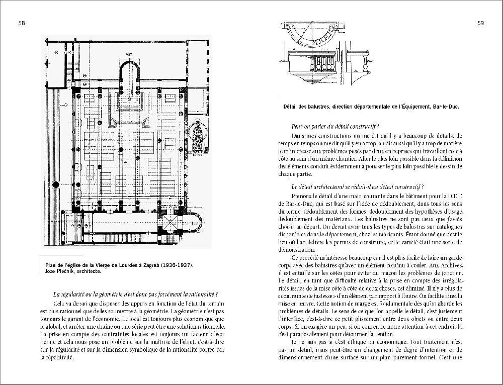 Les architectes et la construction