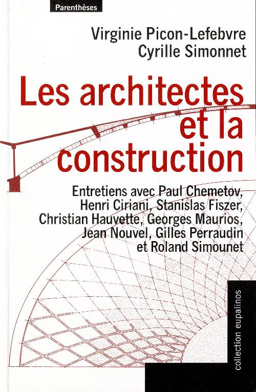 Les architectes et la construction