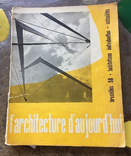 L'Architecture d'aujourd'hui n°78 - Bruxelles 58 - habitations individuelles