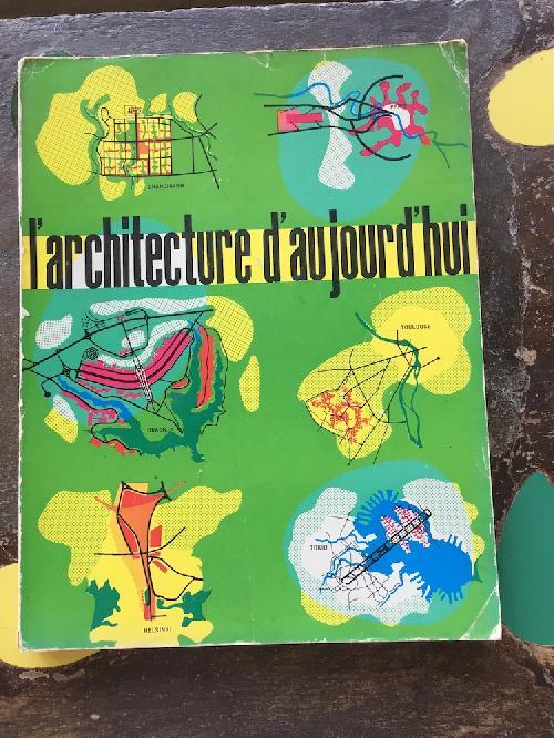 L'Architecture d'aujourd'hui n°101 - Cités nouvelles - Centres urbains