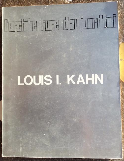L'Architecture d'aujourd'hui n°142 - Louis I. Kahn