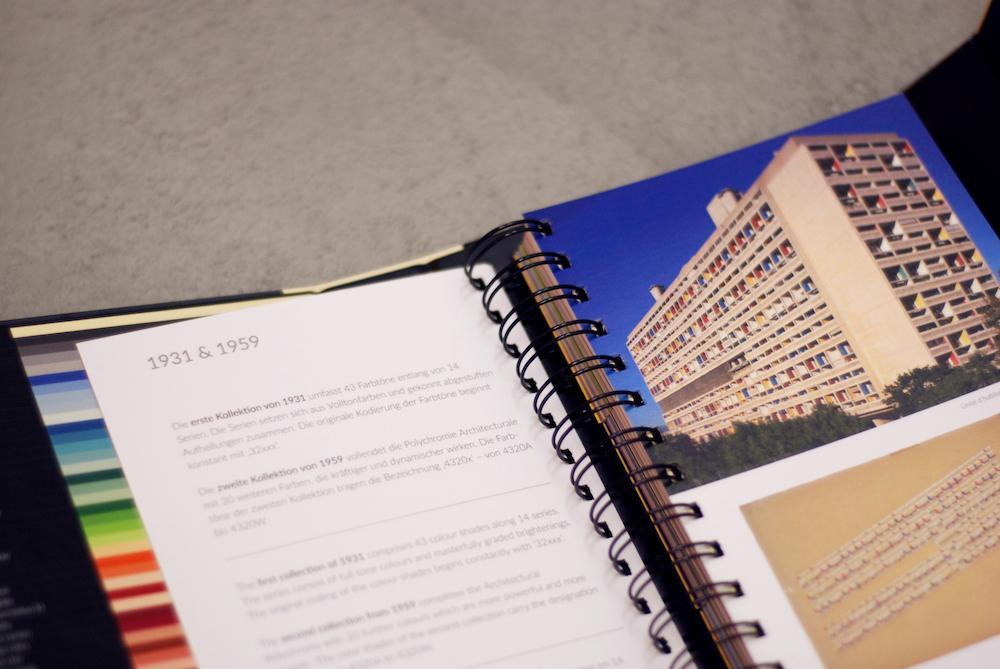 Nuancier Le Corbusier's polychromie architecturale triple