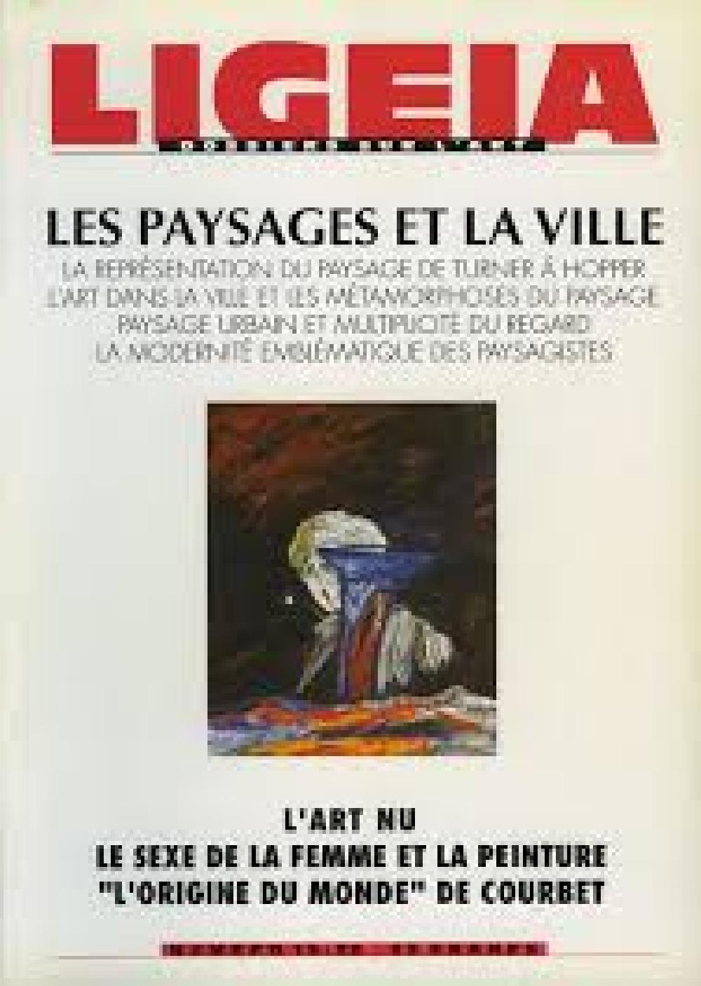 Ligeia n°19-20 Les paysages et la ville