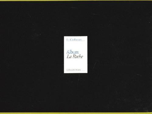 Le Corbusier Album La Roche