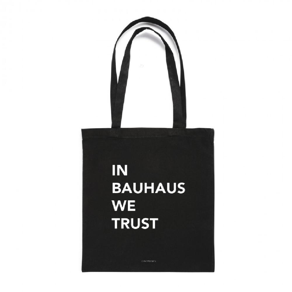 TOTEBAG I am a monument / In bauhaus we trust
