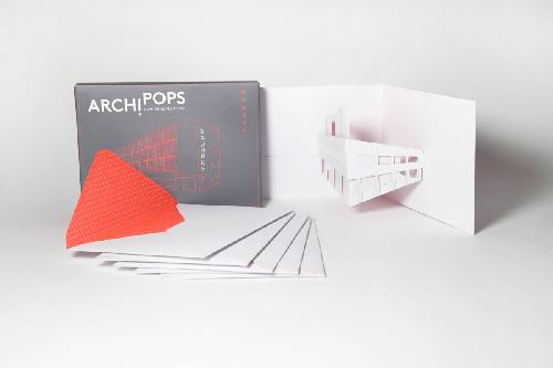 Archi Pops Iconic Buildings - 6 pop up notecards