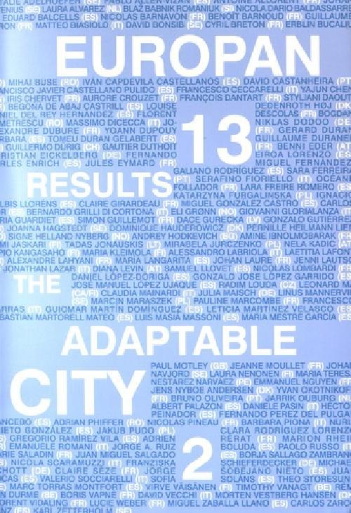 Europan 13 - The Adaptable City 2