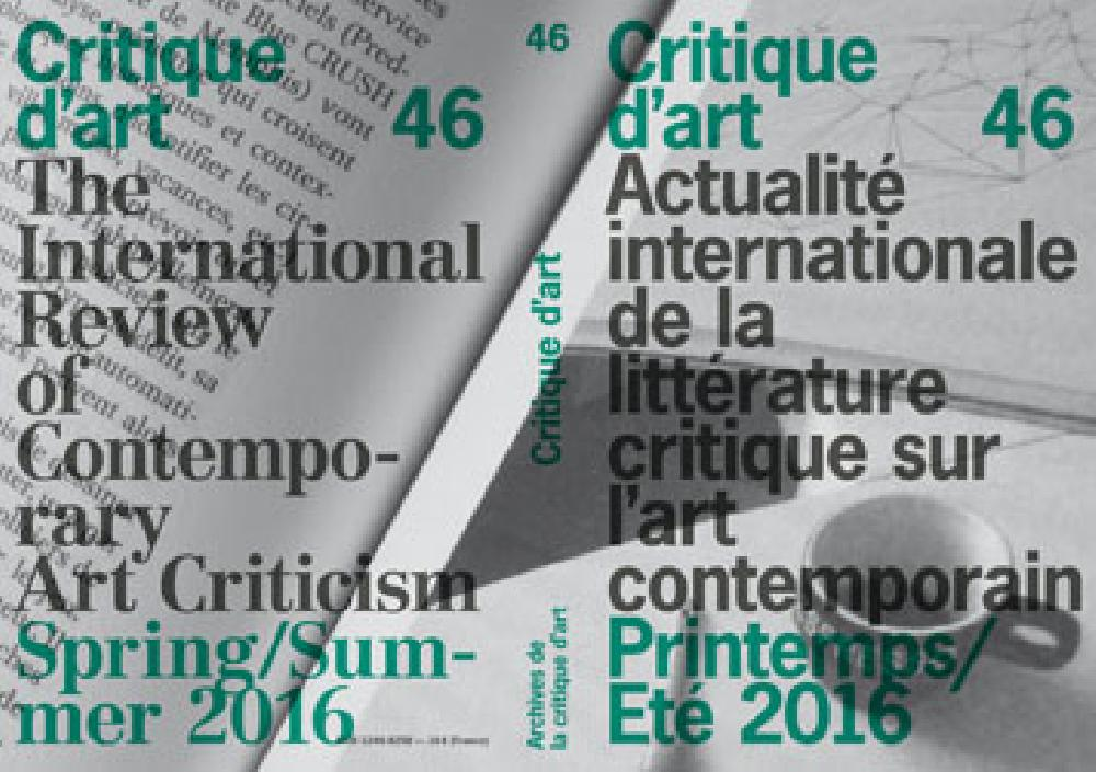 Critique d'Art n°46
