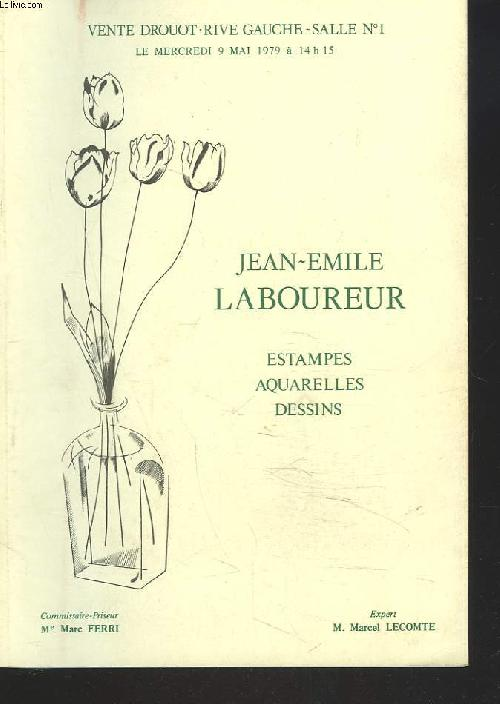 Jean-Emile Laboureur, estampes, aquarelles, dessins
