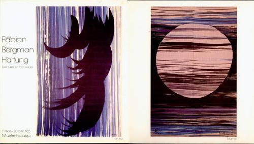 Fabian/Bergman/Hartung - peintures et tapisseries
