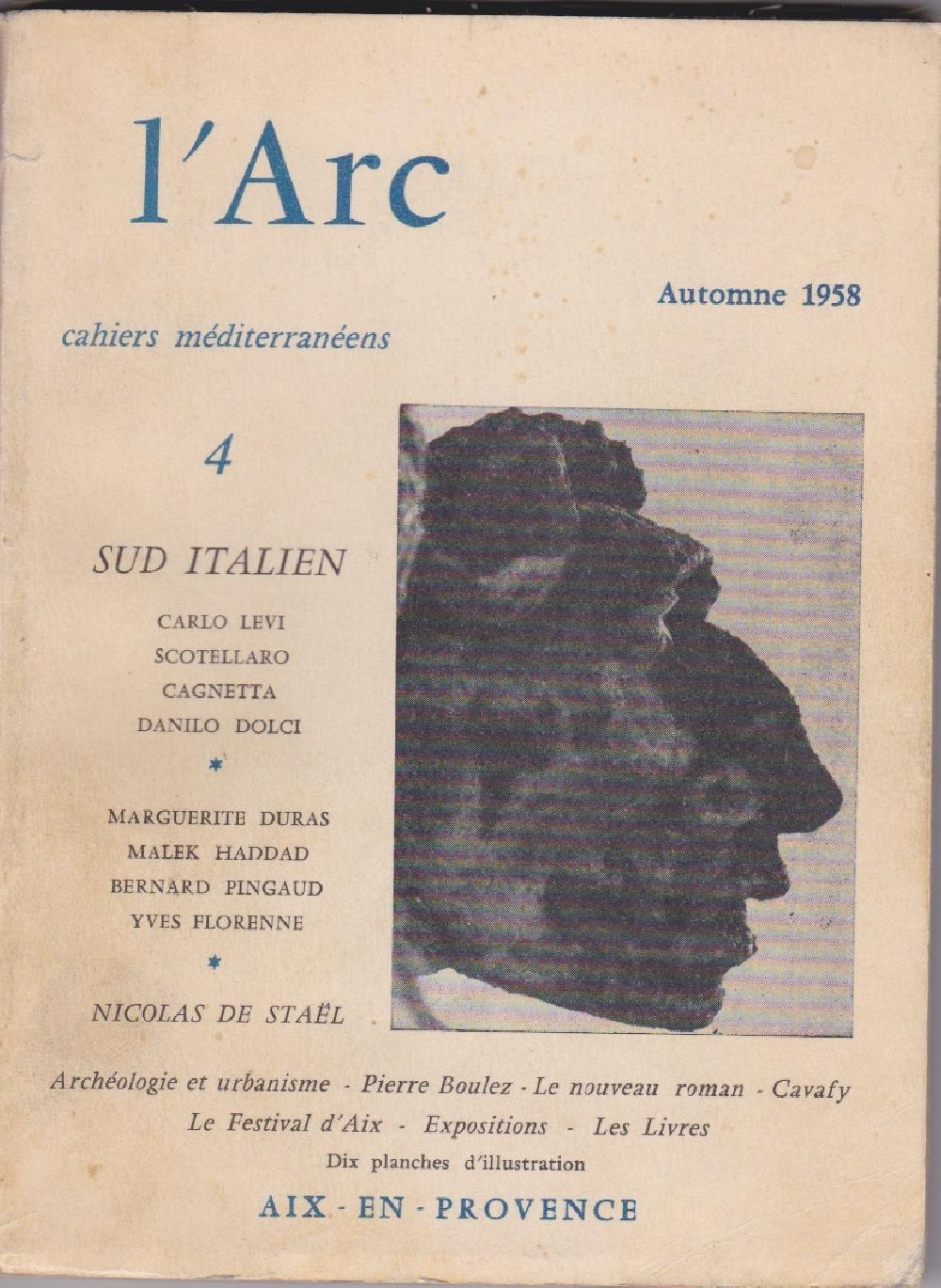 L'Arc. Cahiers méditerranéens n°4