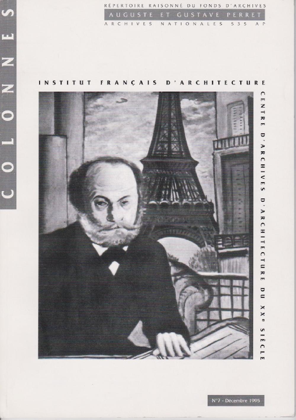 Colonnes n°7. Auguste Gustave Perret