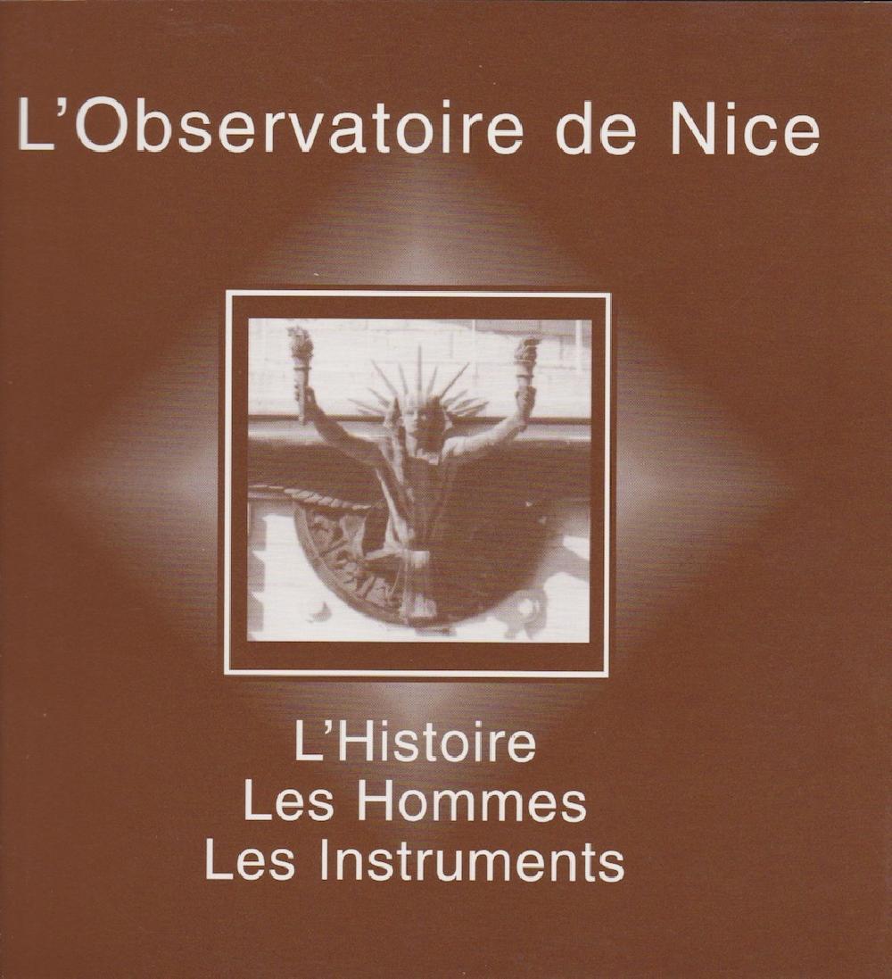 L'observatoire de Nice, l'Histoire, les Hommes, les instruments