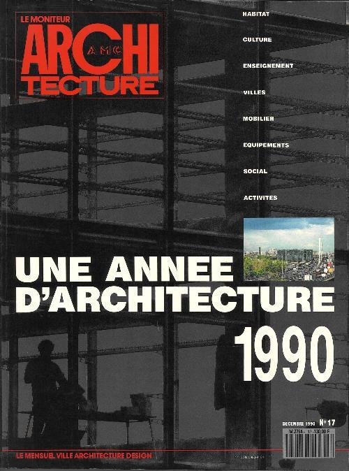 Une année d'architecture 1990 n°17