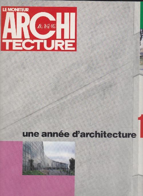 Une année d'architecture 1992 n°37