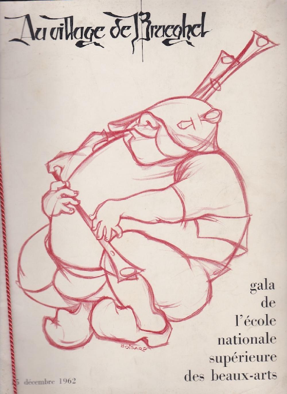 Au village de Brueghel - Gala de l'école nationale supérieure des beaux-arts, 15 décembre 1962