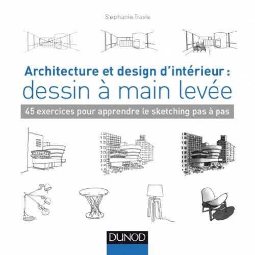 Architecture et design d'intérieur : dessin à main levée