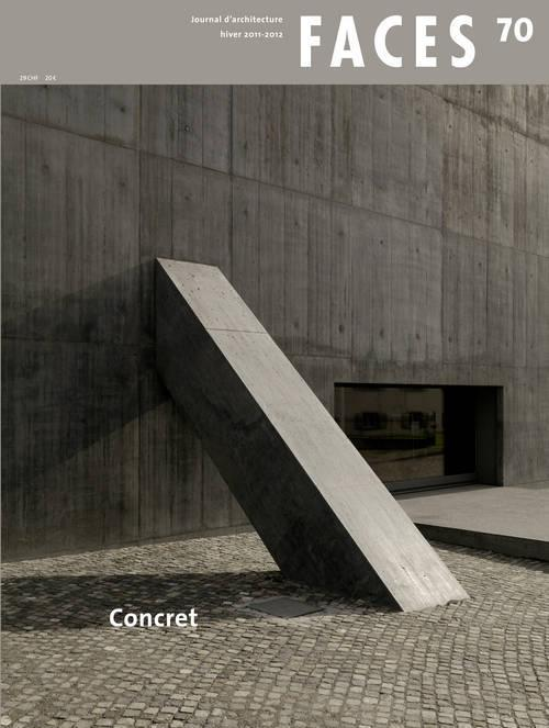 Faces n°70 Concret