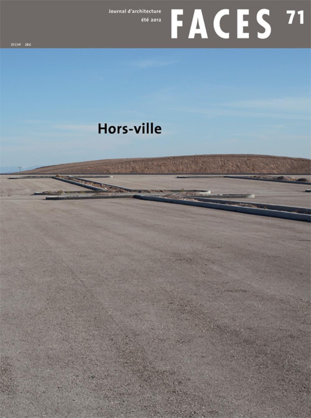 Faces n°71 Hors-Ville