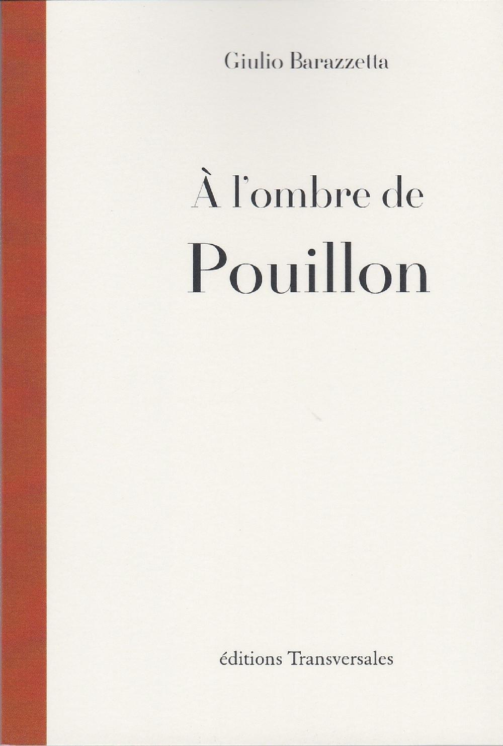À l'ombre de Pouillon